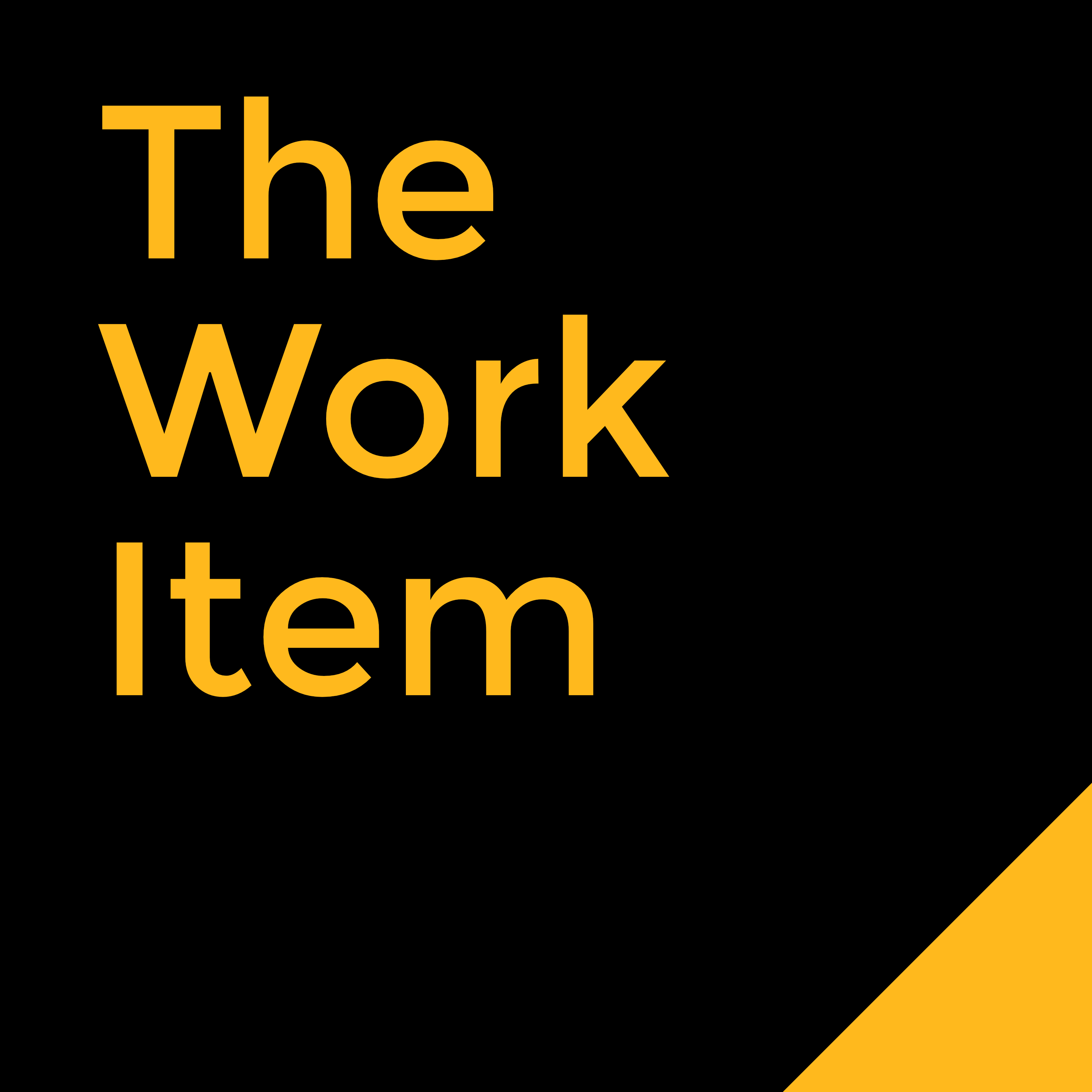 The Work Item podcast logo